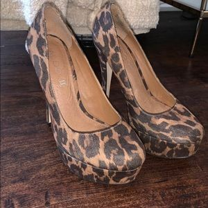 ALDO Cheetah Heels